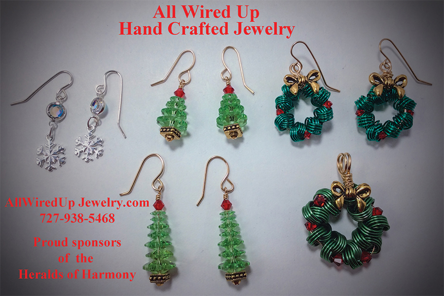 All Wired Up Hand Crafted Jewelry